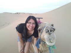 Selfie con el Dromedario (pattyesqga) Tags: morocco maroc marruecos sahara africa travel traveler travelphoto travelgirl femmetravel traveling travelingalone trip moments memories animal selfie dromedary