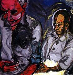 a soulful art legacy - 25 david bowie paintings I (mike.esson) Tags: davidbowie bowie bowieart painting auction sothebys art arte contemporaryart