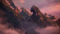 The Eternal Guardian (~Scimo~) Tags: ps4 uncharted landscape screenshot mountain videogame sky fog
