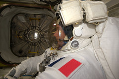 Focus (europeanspaceagency) Tags: thomaspesquet spacewalk iss nasa esa space eva proxima astronauts