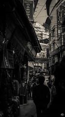 Roamer (Clickr's Eye ( Nature and I click each other )) Tags: darjeeling streets dhr blackwhite greyscale dark monochrome himalayas bazaar hills photography traveller travel indiatraveller bw travelphotography