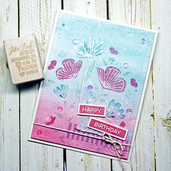 Sketched Blooms (jantink2001) Tags: mftstamps fabfri104 sketched blooms birthdaycard