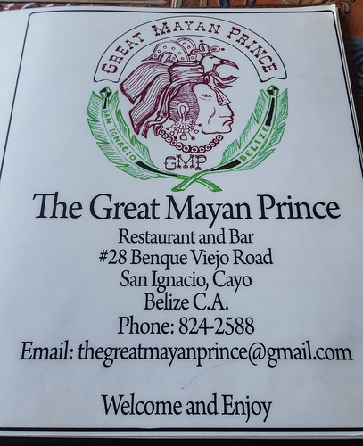 Great Mayan Prince Restaurant, San Ignacio, Belize