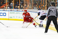 "Missouri Mavericks vs. Allen Americans, March 3, 2017, Silverstein Eye Centers Arena, Independence, Missouri.  Photo: John Howe / Howe Creative Photography • <a style=""font-size:0.8em;"" href=""http://www.flickr.com/photos/134016632@N02/33117920442/"" target=""_blank"">View on Flickr</a>"
