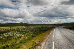 Street in the Fjell of Noway (alexanderscholz) Tags: norwegen norway rondane fjell fjells felsen outdoors road highway strase himmel kurve scandinavia skandinavien naturschutz backpacking landscape