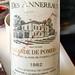 1982 Château Des Annereaux Lalande de Pomerol Bordeaux at @troquetbos