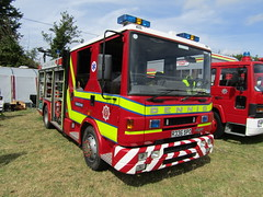 R336 SPO (markkirk85) Tags: show county rescue west ex john fire sussex engine service dennis rapier appliance odiham spo thruxton 2015 r336 r336spo
