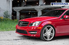 Mercedes Benz C300 Red - RC8 Machine Silver (6) (Rohana Wheels) Tags: mercedes mercedesbenz concave amg luxurycar rohana rc8 luxurywheels rcseries rohanawheels