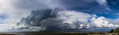 Stormy clouds (K3ndu) Tags: blue sky panorama cloud rain clouds canon eos seaside estonia top sigma stormy bluesky bunker 1770 thunder kuressaare saaremaa panoraam welcometoestonia roomassaare 1100d