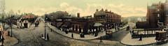 Swiss Cottage panorama (Tetramesh) Tags: tetramesh london england britain greatbritain gb unitedkingdom uk londr   londres londn londen lontoo  londain londra londone londyn llundain londrez loundres londono londinium llondon lunnainn lndra hampstead localhistory oldlondon lostlondon oldhampstead londonpast londonboroughofcamden camden socialhistory uklocalhistory londonlocalhistory swisscottage southhampstead nw3 finchleyroad a41 belsizeroad swisscottagestation metropolitanrailway metropolitanline londonunderground avenueroad upperavenueroad nw36hy swisscottagearea