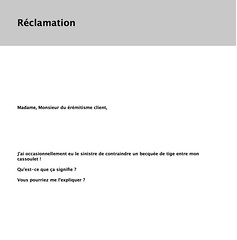 "Réclamation, génération #15 • <a style=""font-size:0.8em;"" href=""http://www.flickr.com/photos/78418793@N05/21292522875/"" target=""_blank"">View on Flickr</a>"