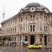 Cuenca architecture in the rain