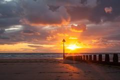 Down by the Sea, Setting Sun, Borth