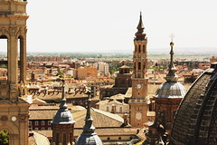 Torres de Zaragoza (Therese Trinko) Tags: madrid city travel skyline europe towers zaragoza torres