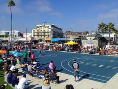 Venice beach Basketball in LA