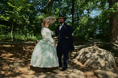 The General And Mrs Grant (biglannie) Tags: actors general civilwar reenactors civilwarreenactors inuniform hobbyists generalulyssessgrant generalgrantandmrsgrant