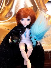Dovey with Toothless and Mermalade (KrissyLou Creations) Tags: rachel fairyland littlefee