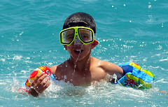 hot weather (samilkahveci) Tags: hot weather child swimm