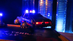 Corgi Toys Buick (Century) Regal Police Car No. 416 Converted Into A Futuristic Sci-Fi Hover Car : Diorama A Hover Police Car City Scene - 34 Of 98 (Kelvin64) Tags: city car century toys buick corgi no police scene scifi converted futuristic regal diorama hover 416 a into