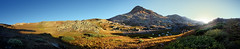 Sunset at Eldorado Lake - Weminuche Wilderness - Colorado (Bruce Lemons) Tags: california sunset lake mountains landscape tents hiking hike backpacking hikers sierranevada chicagobasin eldoradolake weminuchewilderness whitedome