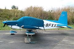 G-BFXX (vriesbde) Tags: tiger gulfstream aa5 northweald aa5b northwealdairfield egsx aa5btiger gulfstreamaa5b gbfxx gulfstreamaa5btiger gulfstreamtiger