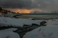 Cosy water during winter times (Frank.Hockertz) Tags: schnee winter landscape nacht environment landschaft comment umwelt remark seasonoftheyear anmerkung timeoftheyear ultratagltec20072010coolcolours