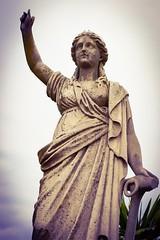 (Kevin Quinn Art) Tags: atlanta sculpture woman cemetery graveyard stone memorial stonework historic