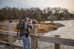 Crossing The Bridge (Evan's Life Through The Lens) Tags: camera light portrait sun water beautiful beauty vintage lens landscape outside outdoors bokeh massachusetts sony hike adventure worlds flare end marsh leak hingham a6000 a7s