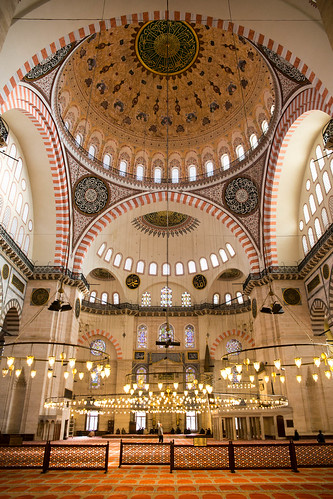 Pattern in Suleymaniye Mosque