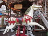 Carousel Horse  & Tiger Children's Christmas Market (Nancy D. Brown) Tags: horse germany nuremberg christmasmarket merrygoround carouselhorse