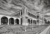 Casa del Desierto (dejavue.us) Tags: architcture california nikon desert d800 barstow 180350mmf3545 mojavedesert nikkor trainstation harveyhouse clouds