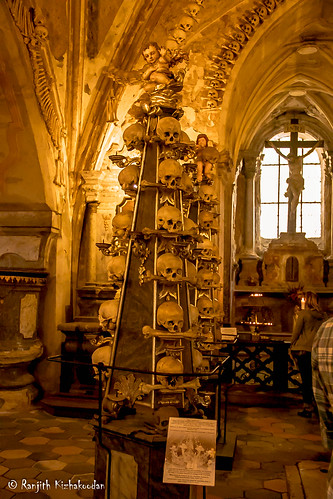 The Sedlec Ossuary (Bone church)