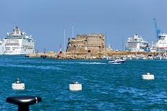 Port of Civitavecchia (Yuri Rapoport) Tags: themediterraneansea 2013 civitavecchia lazio italy