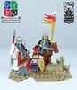 Skuda Leaders (Cuahchic) Tags: lego skuda foitsop castle sword mongols huns horse desert loreos roawia landsofroawia giscu