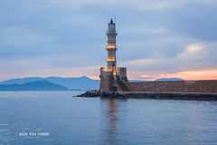 Chania today <3 (Imaginarium 2.1) Tags: chania today oldharbour lighthouse sea sky sunrise colors nikon crete greece liveyourmythingreece bvs bazilvansinner bazilvansinnerphotography outdoor landscape nikond5200 sigmalens