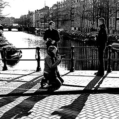 Photo Gang, Amsterdam (pom.angers) Tags: panasonicdmctz10 march 2011 people amsterdam northholland netherlands europeanunion 100