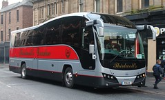 Thirwell's Coaches of Swalwell: PCN25 Volvo B9R/Plaxton Elite