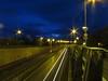 6778 Light trails - dawn breaking over the mountains (Andy - Busyyyyyyyyy) Tags: 20170106 a55expressway dawnbreaking lighttrails llanfairpwllgwyngyllgogerychwyrndrobwllllantysiliogogogoch lll redlights road rrr