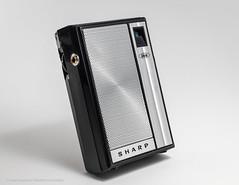 Sharp BP-101, AM Six Transistor Radio, late 60´s, Made in Japan by  SHARP, Osaka. (José Gustavo Sánchez González) Tags: josegustavo transistorradio sharp bp101 japan
