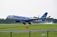 15th August 2010 Manchester Airport (rob  68) Tags: 15th august 2010 manchester airport thomas cook airlines airbus a330243 gtcxa msn 795 as 2016 with air transat cgtsj a330