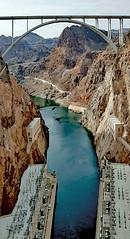 Hoover Dam & Colorado River (SteveMather) Tags: hoover boulder dam lasvegas hydroelectric generators lakemead blackcanyon coloradoriver
