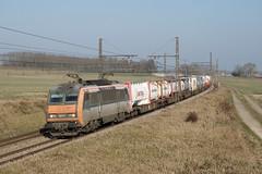 BB 26177 et fret (SylvainBouard) Tags: sncf train fret bb26000