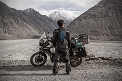 Take Your Time (Roman|Maksimov) Tags: sky landscape nature travel magic mountains valley outdoors expedition camping tajikistan romanmaksimov adventure scenic majestic afghanistan landscapephotography mountainpeak explore commercial motorcycle triumph triumphtiger jofama lindstrands bumot canon
