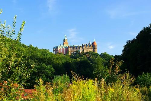 Castle Książ from N side