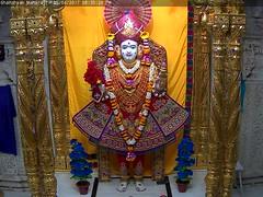 Ghanshyam Maharaj Shayan Darshan on Wed 05 Apr 2017 (bhujmandir) Tags: ghanshyam maharaj swaminarayan dev hari bhagvan bhagwan bhuj mandir temple daily darshan swami narayan shayan