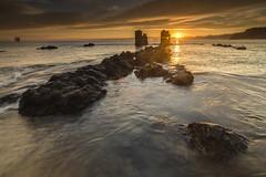 first lights (Migueliglesias76) Tags: asturias lastres longexposure amanecer nikon seascape sky sea s