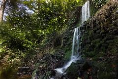 Hidden waterfall in the Surrey Hills (Thomas_Hughes) Tags: canon 5d 1635mm f4 waterfall formatt hitech slowshutter water landscape hiddensecret smooth firecrest 10stopfilter