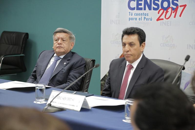 INEI Y LA UNIVERSIDAD CÉSAR VALLEJO FIRMARON UN CONVENIO DE COOPERACIÓN INTERINSTITUCIONAL EN APOYO A LOS CENSOS NACIONALES 2017