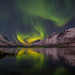 arctic night by John A.Hemmingsen -