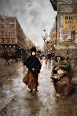 """""""Woman of Paris"""" (about 1877) by Vincenzo Migliaro (Naples 1858-Naples 1938) - """"The hidden art treasures: 150 Italian masterpieces"""" - Exhibition up to May 28, 2017 in Naples"""